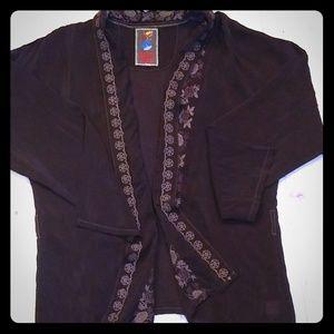 Johnny Was Kimono Style Jacket